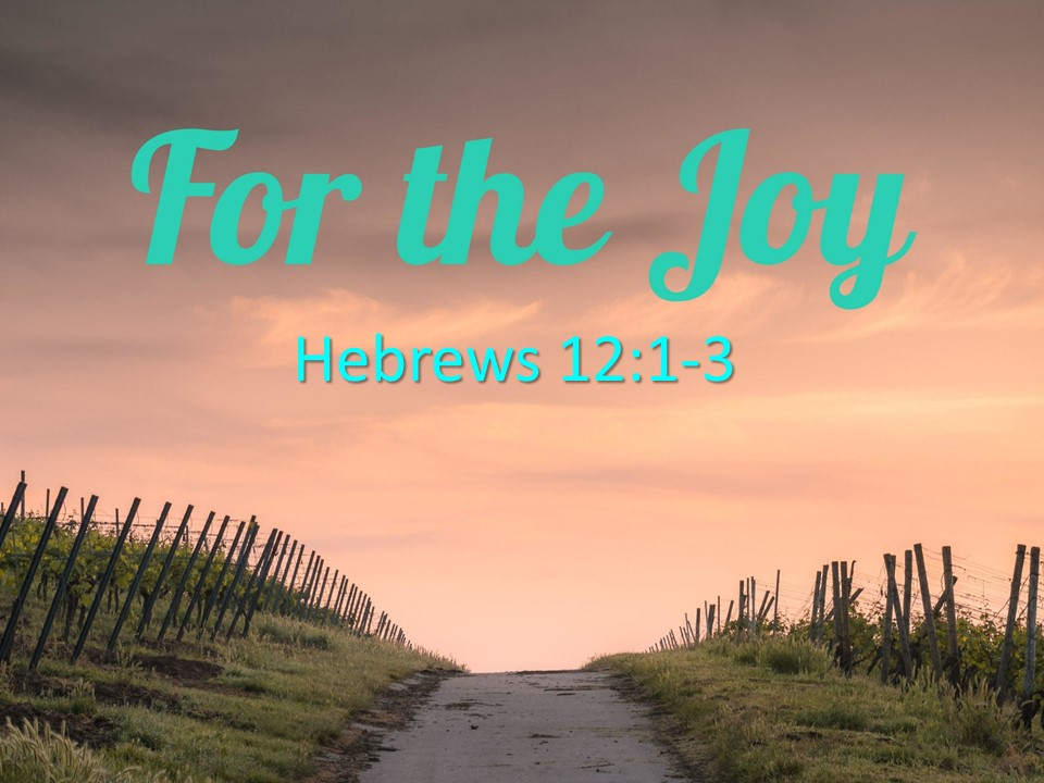 """""""For The Joy"""""""